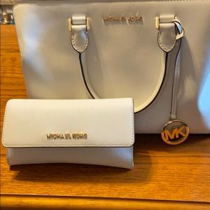 Michael Kors Handbag and Billfold (Authentic)